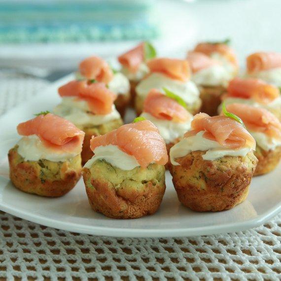 Lososové muffiny