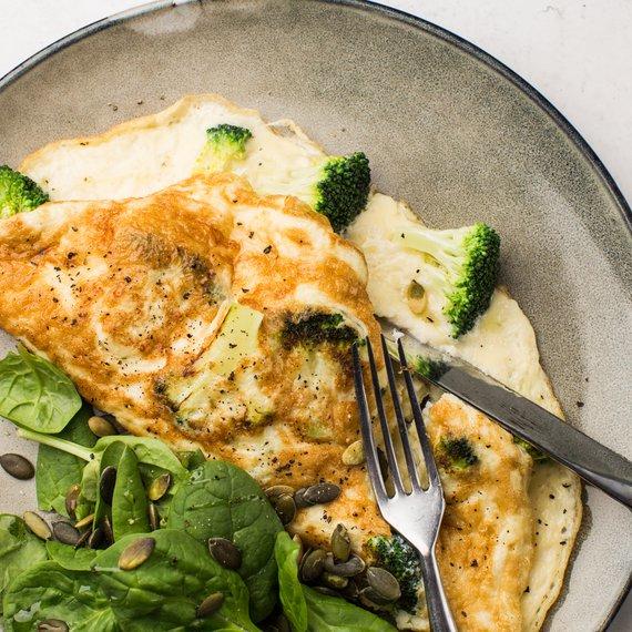 Omeleta s brokolicí