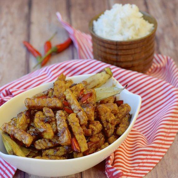 Směs s tempehem a rýží