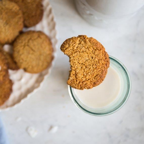 Kokosové sušenky s vanilkou