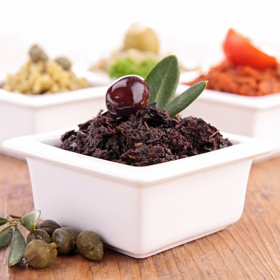 Pomazánka z černých oliv