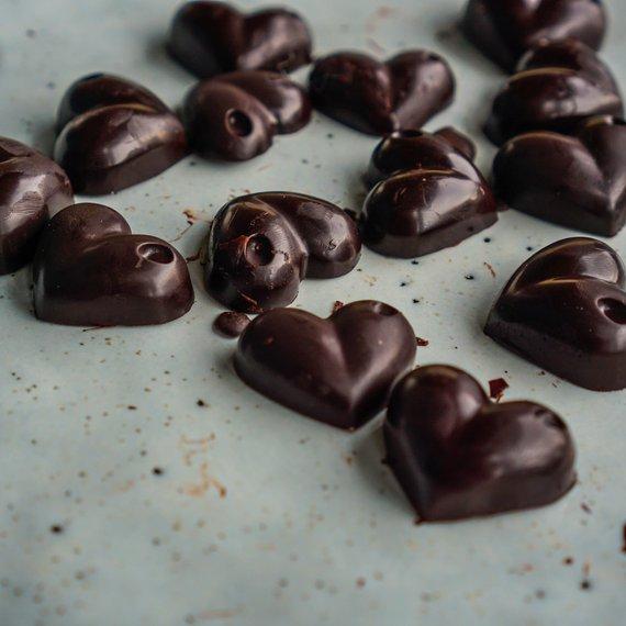 Rychlé čokoládové bonbony