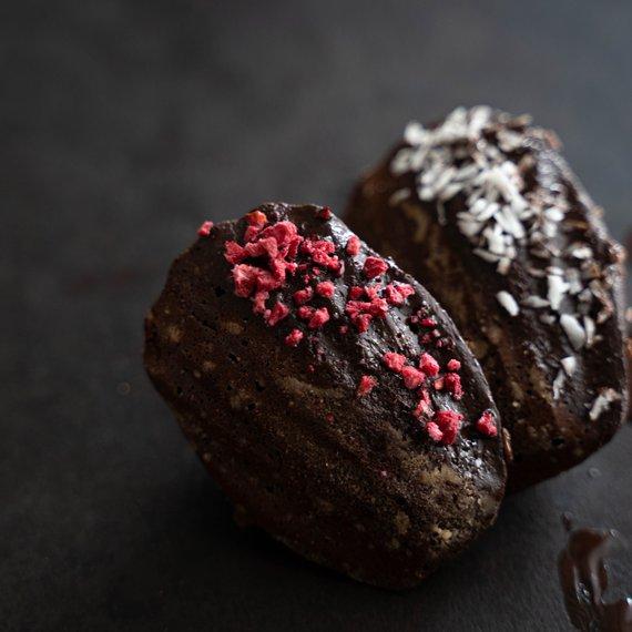 Bezlepkové kakaové madlenky