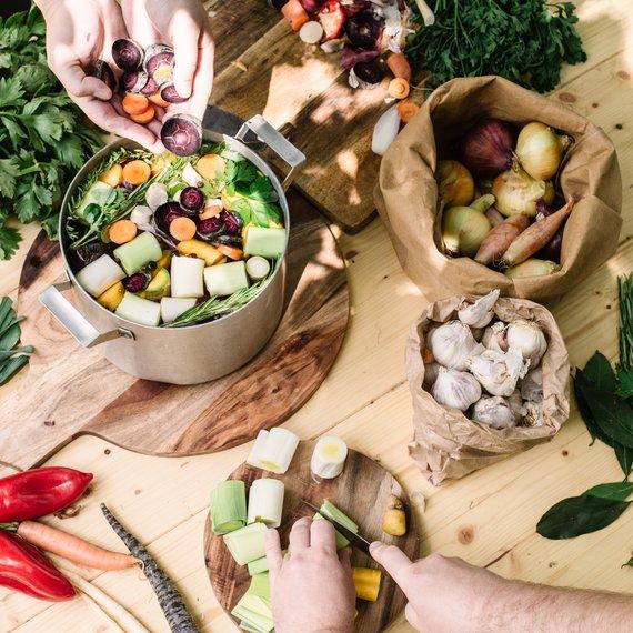 Zeleninový vývar - základní recept
