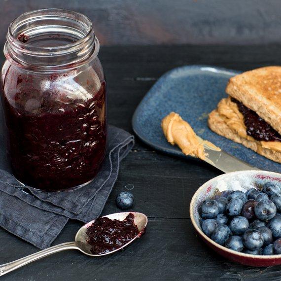 Domácí borůvkový džem s chia - základní recept