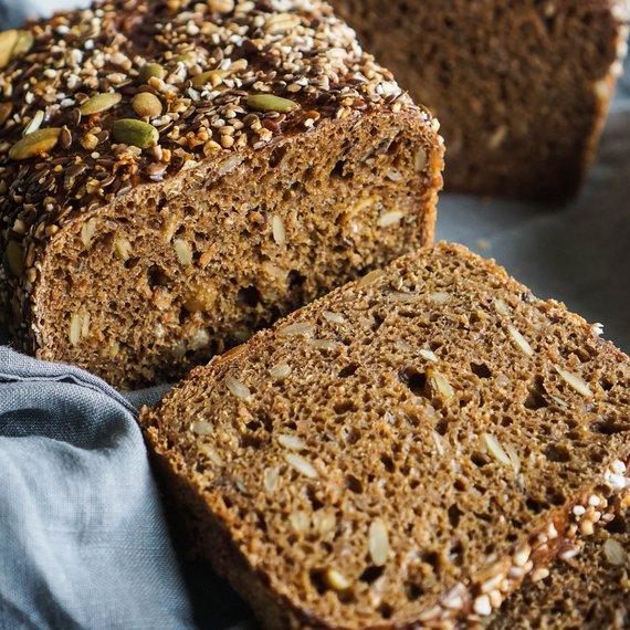 Žitný chléb/Rugbrød - základní recept