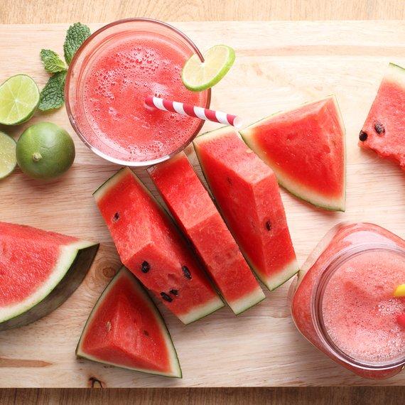 Smoothie z vodního melounu