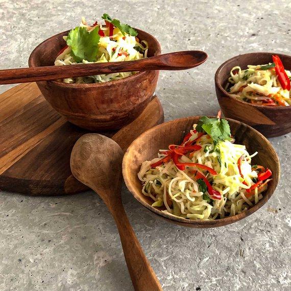 Asijský coleslaw salát