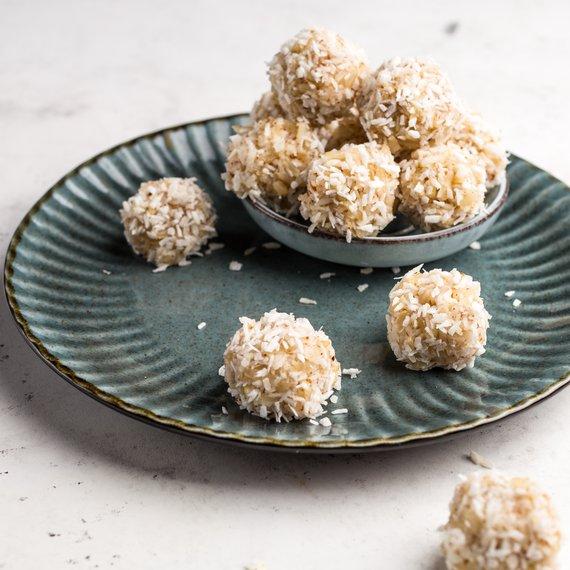 Kokosové kuličky s rýží