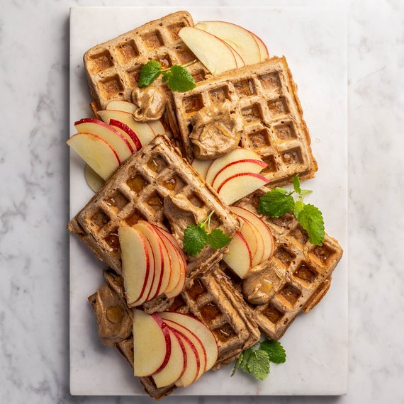 Jablečné vafle se skořicí