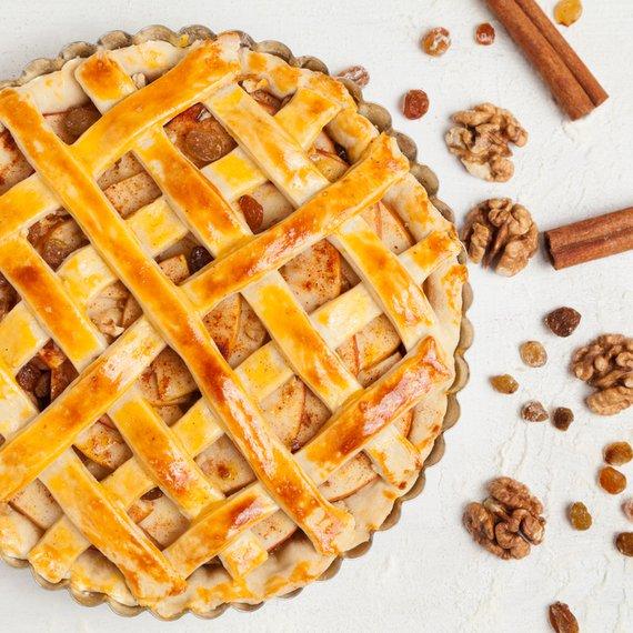 Linecký jablečný koláč