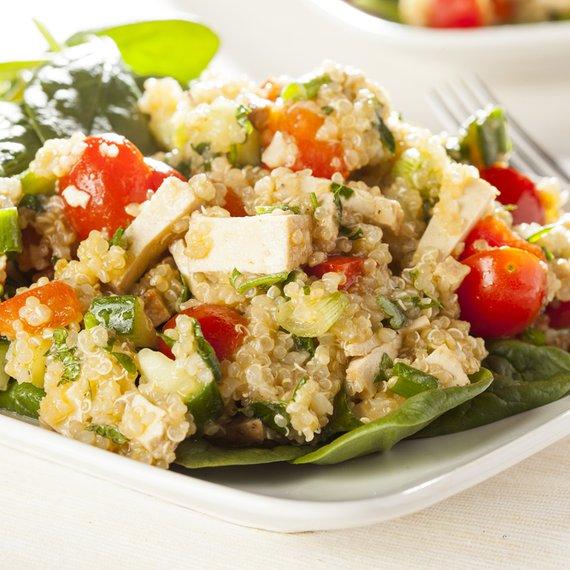 Quinoa s tofu
