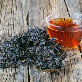 Černý sypaný čaj