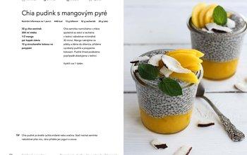 Chia pudink s mangovým pyré