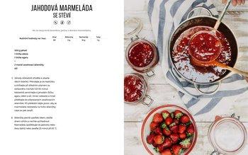 Jahodová marmeláda se stévií