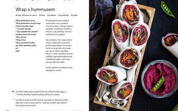 Wrap s hummusem