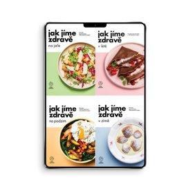 Sada 4 kuchařek Jak jíme zdravě (e-knihy, PDF)