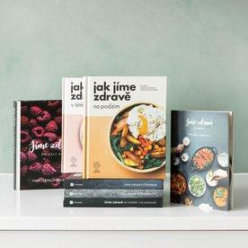 Jíme zdravě – sada prvních 7 knih
