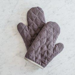 Kuchyňská chňapka klasická MagicLinen – tmavě šedá
