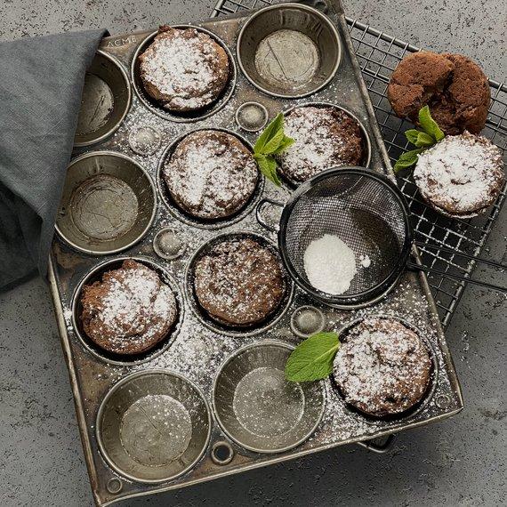 Muffiny z fazolí