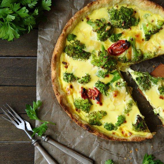 Frittata s brokolicí