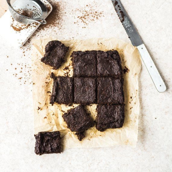 Tekvicové brownies z 5 ingrediencií