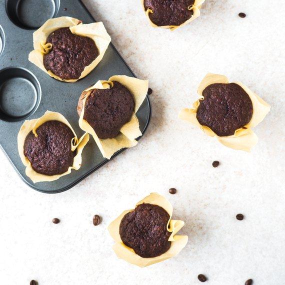 Kávové muffiny s kokosovým cukrem