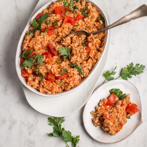Rajčatová rýže s chilli