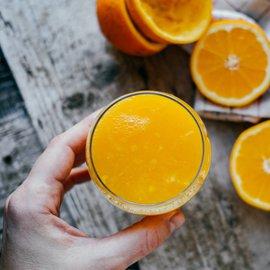 Šťáva z pomeranče