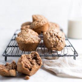 Snídaňové banánové muffiny