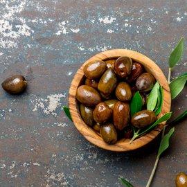 Černé olivy