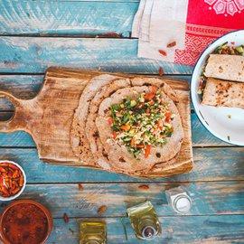 Celozrnné tortilly
