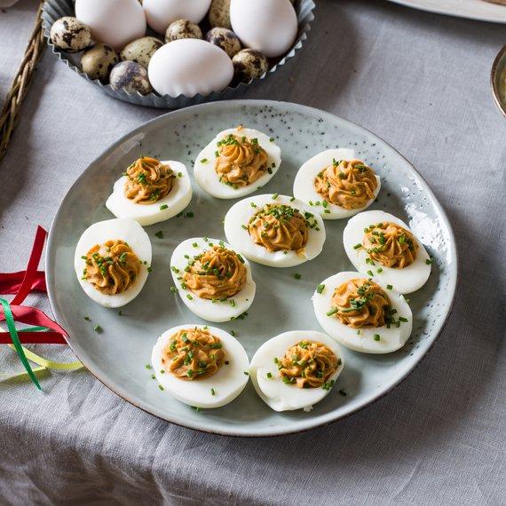Vajíčka plněná ricottou