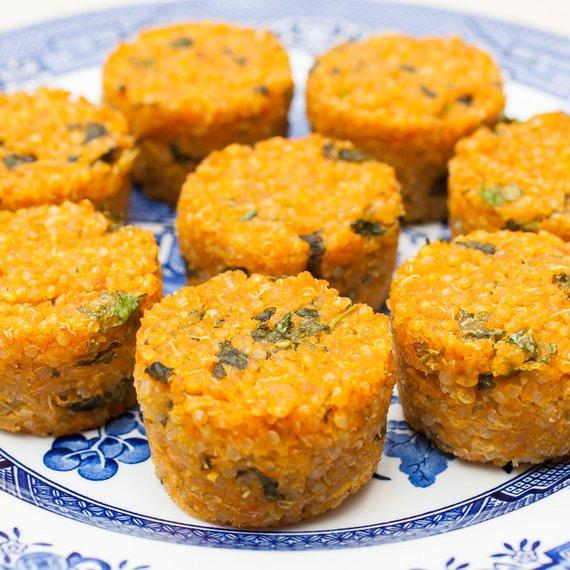 Quinoa muffiny