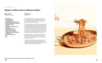 špagety s kraličím masem