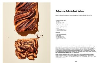 Celozrnná čokoládová babka