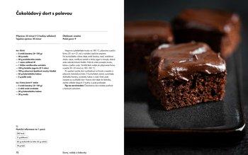 Čokoládový dort s polevou