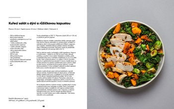 Kuřecí salát s dýní a růžičkovou kapustou