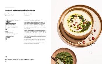 Květáková polévka s bazalkovým pestem