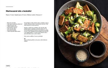 Marinované tofu s brokolicí