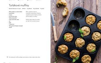 Tuňákové muffiny