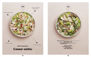 Skryté kalorie v caesar salátu