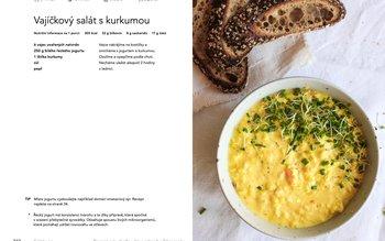 Vajíčkový salát s kurkumou
