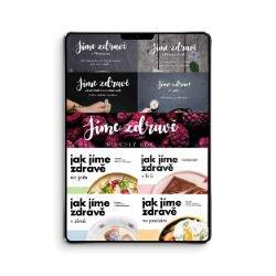 Jíme zdravě – kompletní sada ebooků za jedinečnou cenu  (e-knihy, PDF)