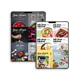 Jíme zdravě – kompletní sada (e-knihy, PDF)