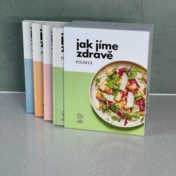 Sada 4 Jak jíme zdravě kuchařek v dárkovém boxu