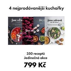 350 zdravých receptů ve 4 nádherných kuchařkách s 50% slevou